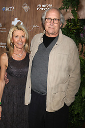 February 20, 2019 - Beverly Hills, CA, USA - LOS ANGELES - FEB 20:  Jayni Luke, Chevy Chase at the Global Green 2019 Pre-Oscar Gala at the Four Seasons Hotel on February 20, 2019 in Beverly Hills, CA (Credit Image: © Kay Blake/ZUMA Wire)