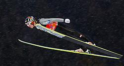 29.12.2011, Schattenbergschanze / Erdinger Arena, Oberstdorf, GER, 60. Vierschanzentournee, FIS Weldcup, Training, Ski Springen, im Bild David Zauner (AUT) // David Zauner of Austria during training at 60th Four-Hills-Tournament, FIS World Cup in Oberstdorf, Germany on 2011/12/29. EXPA Pictures © 2011, PhotoCredit: EXPA/ P.Rinderer