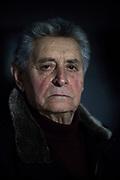 16 February 2017, Pescasseroli, AQ Italy - Antonio Ursitti, 89 years.