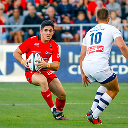 Anthony Belleau of Toulon during the pre-season match between Rc Toulon and Clermont Auvergne at Felix Mayol Stadium on August 11, 2017 in Toulon, France. (Photo by Guillaume Ruoppolo/Icon Sport)