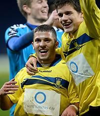 20131110 Brøndby IF - AGF Superliga fodbold