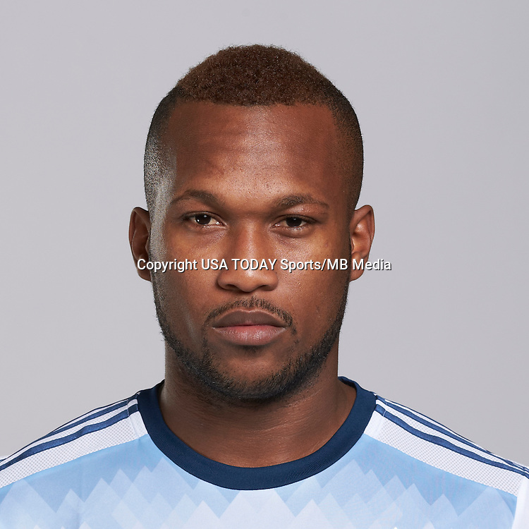 Feb 25, 2016; USA; Vancouver Whitecaps player Kendall Waston poses for a photo. Mandatory Credit: USA TODAY Sports