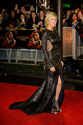 Ellie Goulding at The World Premiere of 'The Hunger Games: Catching Fire'. Leicester Square, London, United Kingdom. Monday, 11th November 2013. Picture by Chris Joseph / i-Images