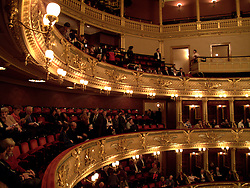 CZECH REPUBLIC PRAGUE 13DEC08 - Interior of the Czech National Theatre in Prague...jre/Photo by Jiri Rezac