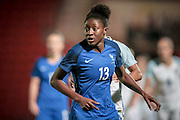 Kadidiatou Diani (France) during the International Friendly match between England Women and France Women at the Keepmoat Stadium, Doncaster, England on 21 October 2016. Photo by Mark P Doherty.