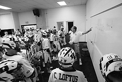 26 May 2007: Duke Blue Devils in the locker room before the NCAA semifinals to take on the Cornell Big Red at M&T Bank Stadium in Baltimore, MD.