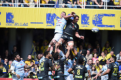 April 1, 2018 - Clermont Ferrand - Stade Marcel, France - Alexandre Lapandry (asm) vs  (Credit Image: © Panoramic via ZUMA Press)