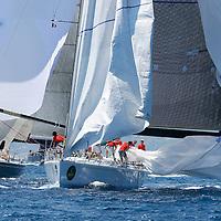 Giraglia Rolex Cup 2006. St Tropez.illustration VOILE-EQUIPAGES-SAILING CREW-PART.1