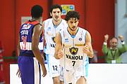 DESCRIZIONE : Cremona Lega A 2014-2015 Vanoli Cremona ENEL Brindisi<br /> GIOCATORE : Luca Vitali <br /> SQUADRA : Vanoli Cremona<br /> EVENTO : Campionato Lega A 2014-2015<br /> GARA : Vanoli Cremona ENEL Brindisi<br /> DATA : 16/11/2014<br /> CATEGORIA :  Ritratto Esultanza<br /> SPORT : Pallacanestro<br /> AUTORE : Agenzia Ciamillo-Castoria/F.Zovadelli<br /> GALLERIA : Lega Basket A 2014-2015<br /> FOTONOTIZIA : Cremona Campionato Italiano Lega A 2014-15 Vanoli Cremona ENEL Brindisi<br /> PREDEFINITA : <br /> F Zovadelli/Ciamillo
