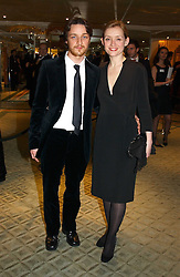 JAMES McAVOY and ANNE-MARIE DUFF at the 25th annual Awards of the London Film Critics' Circle in aid of the NSPCC held at The Dorchester Hotel, Park Lane, London W1 on 9th February 2005.<br /><br />NON EXCLUSIVE - WORLD RIGHTS