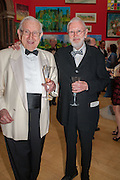 JOSEPH RYKWERT; JOE TILSON, Royal Academy of Arts Annual dinner. Piccadilly. London. 29 May 2012.