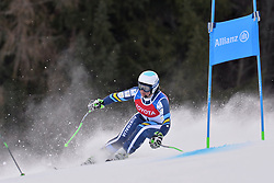 PERRINE Melissa Guide: GEIGER Christian, B2, AUS at 2018 World Para Alpine Skiing Cup, Kranjska Gora, Slovenia