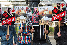 2019-09-11 Stop Arming Saudi and UAE protest