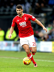 Eric Lichaj of Nottingham Forest - Mandatory by-line: Robbie Stephenson/JMP - 11/12/2016 - FOOTBALL - iPro Stadium - Derby, England - Derby County v Nottingham Forest - Sky Bet Championship