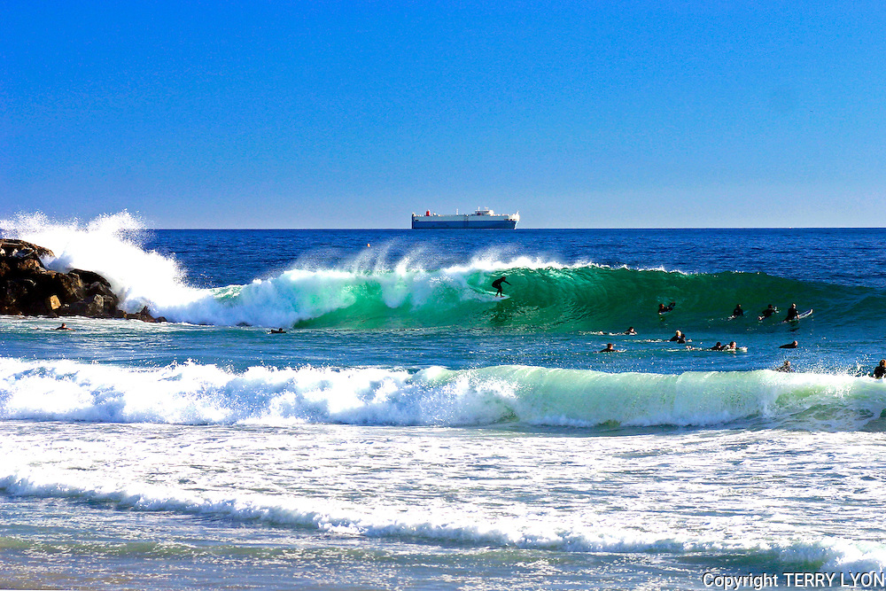 Cottesloe winter swell 2005, one of the best on record.
