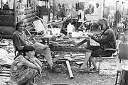 Chilling Shower Crew, Glastonbury, 1993.