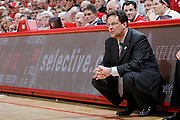 BLOOMINGTON, IN - MARCH 3: Indiana Hoosiers head coach Tom Crean looks on during the game against the Wisconsin Badgers at Assembly Hall on March 3, 2011 in Bloomington, Indiana. Wisconsin won 77-67. (Photo by Joe Robbins) *** Local Caption *** Tom Crean