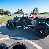 Bert Degenaar & Loes Vrij in their Bentley Blower 4 Litre on the Royal Automobile Club 1000 Mile Trial 2015