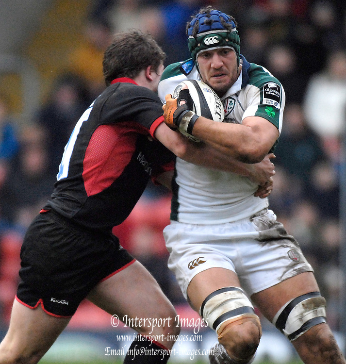 Watford, GREAT BRITAIN, Kieran ROCHE, during the, Guinness Premiership game between, Saracens and London Irish, on Sat., 27.01.2007,  at the Rec, England. Photo, Peter Spurrier/Intersport-images]