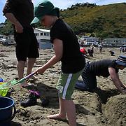 Island Bay Festival Sandcastles