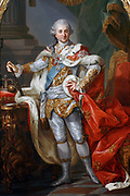 Stanis?aw II August Poniatowski 1732 – 1798. King and Grand Duke of the Polish-Lithuanian Commonwealth (1764–95)  painted by