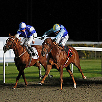 Poyle Punch and Jim Crowley winning the 6.50 race