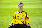 Nat West T20 Blask kit portrait of Ben Green during the Somerset County Cricket Club PhotoCall 2017 at the Cooper Associates County Ground, Taunton, United Kingdom on 5 April 2017. Photo by Graham Hunt.