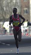 London Marathon, London, GREAT BRITAIN, location, Isle of Dogs, Race No. 104 SUSAN. CHEPKEMEI  KEN. © Peter Spurrier/Intersport Image/+447973819551