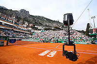 Illustration Spider Cam Court central - 17.04.2015 - Tournoi de Monte Carlo 2015 - Masters 1000 <br />