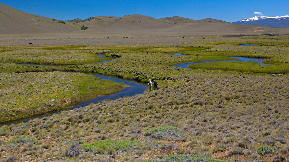 On the border of Chile and Argentina, there's a spring creek that will remind you of Montana - 200 years ago - and you can have it all to yourself.