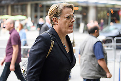© Licensed to London News Pictures. 04/09/2018. London, UK. EDDIE IZZARD arrives at Labour Party headquarters in London to attend a National Executive Committee meeting. The Labour Party's ruling body is expected to vote on whether to adopt, in full, the IHRA (International Holocaust Remembrance Alliance) definition of anti-Semitism. Photo credit: Ben Cawthra/LNP