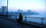 Pyongyang, North Korea.<br />Bridge entering Pyongyang at dawn<br /><br />Picture Credit: Dermot Tatlow