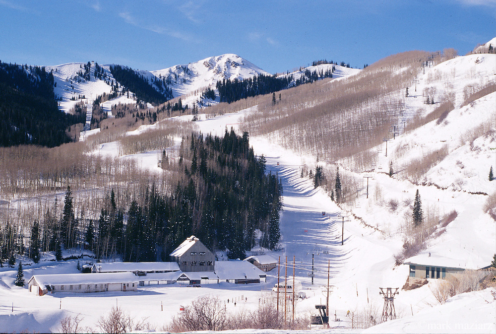 Jupiter Peak from Park City Mountain Resort, Utah, USA