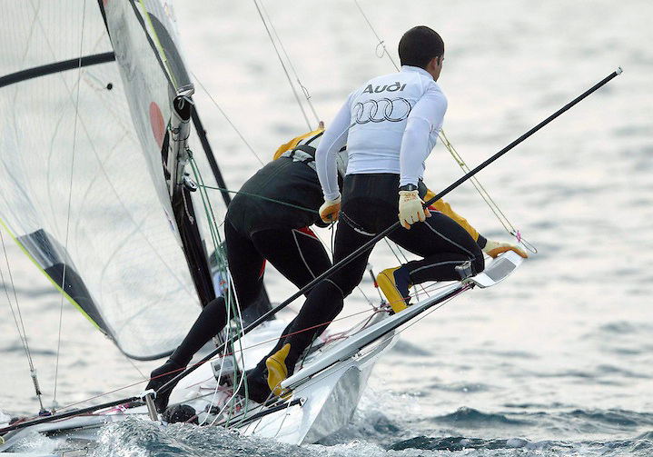 TEMA: XSMAS RACE DE VELA..LLOC: PALAMO?S..DATA: 27/12/05..FOTO: JORDI RIBOT-LVE.