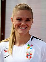 International Women's Friendly Matchs 2019 / <br /> Womens's Algarve Cup Tournament 2019 - <br /> China v Norway 1-3 ( Municipal Stadium - Albufeira,Portugal ) - <br /> Kristine Leine of Norway
