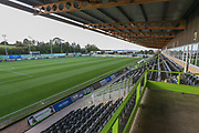 The New Lawn, home of Forest Green Rovers during the Leasing.com EFL Trophy match between Forest Green Rovers and Coventry City at the New Lawn, Forest Green, United Kingdom on 8 October 2019.