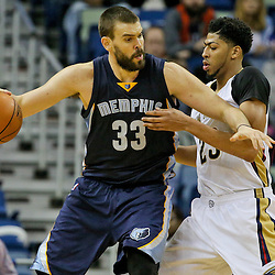 12-01-2015 Memphis Grizzlies at New Orleans Pelicans