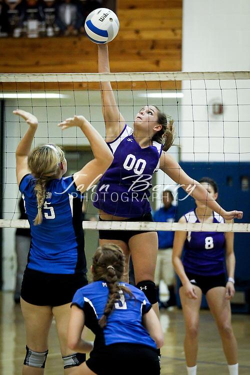 October/4/11:  MCHS Varsity Volleyball vs Strasburg Rams.  Strasburg wins 3-1 (18-25, 25-19, 26-28, 26-28).