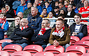 Middlesbrough fans  during the EFL Sky Bet Championship match between Middlesbrough and Nottingham Forest at the Riverside Stadium, Middlesbrough, England on 6 October 2018.