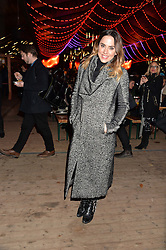 MEL C at the Hyde Park Winter Wonderland - VIP Preview Night, Hyde Park, London on 17th November 2016.