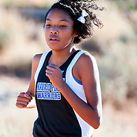 110111       Brian Leddy<br /> Navajo Pine Warrior Annoesika Laughlin came in first place in the girls cross country race at Rehoboth.