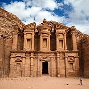 The Monastery, Petra, Jordan, December 2013.
