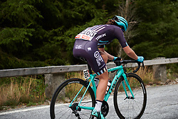 Hannah Payton (GBR) on the categorised climb at Ladies Tour of Norway 2018 Stage 3. A 154 km road race from Svinesund to Halden, Norway on August 19, 2018. Photo by Sean Robinson/velofocus.com