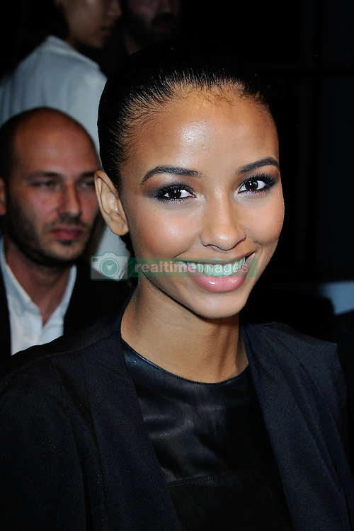 Flora Coquerel attending the Guy Laroche show as a part of Paris Fashion Week Ready to Wear Spring/Summer 2017 in Paris, France on September 28, 2016. Photo by Aurore Marechal/ABACAPRESS.COM