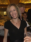 Eva Rausing, Christmas shopping evening in aid of  Sargent, ( cancer care for children), fortnum and Mason, 17 November 2003. © Copyright Photograph by Dafydd Jones 66 Stockwell Park Rd. London SW9 0DA Tel 020 7733 0108 www.dafjones.com