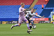 Bolton Wanderers Defender Niall Maher in action during the Sky Bet Championship match between Bolton Wanderers and Reading at the Macron Stadium, Bolton, England on 2 April 2016. Photo by Mark Pollitt.