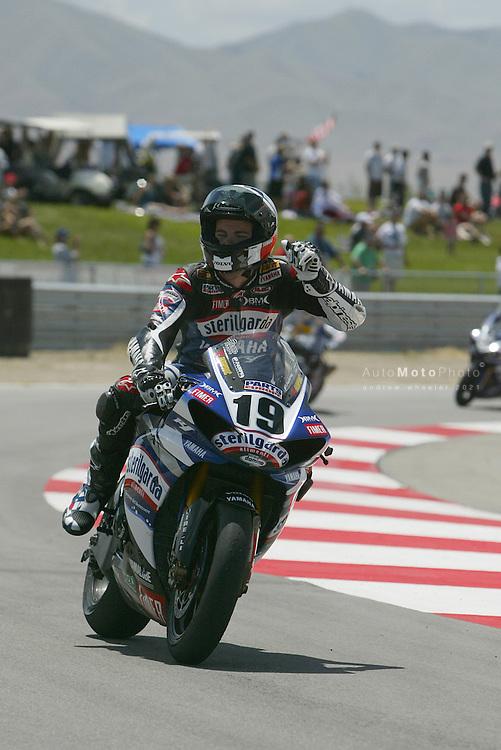 2009 Superbike World Championship, Round 07, Miller, USA, 31 May 2009, Ben Spies (ITA), 19, Yamaha