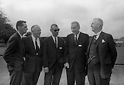 8/9/1964<br /> 9/8/1964<br /> 8 September 1964<br /> <br /> Mr. Joe Sullivan of the Boston Herald Traveller, Mr T.A. Headon  the Managing Director of Urney Choclates, Mr Wallace Guenther of the L.A. Times and Mr John Moore the Director of Urney Choclates and W&R Grace and Co. in New York