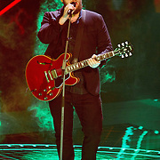 NLD/Hilversum/20151211 - 2e Liveshow The Voice of Holland, TVOH, Dave Vermeulen