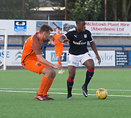 Dundee's trialist striker and Dundee United's Luke Bollan - Dundee under 20s v Dundee United in the SPFL Development League at Links Park, Montrose<br /> <br />  - &copy; David Young - www.davidyoungphoto.co.uk - email: davidyoungphoto@gmail.com
